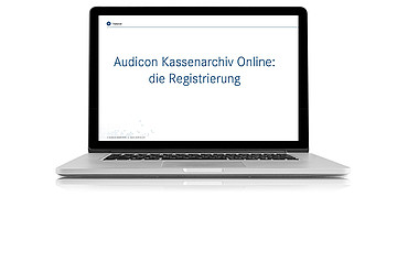 Registrierung Audicon Kassenarchiv Online